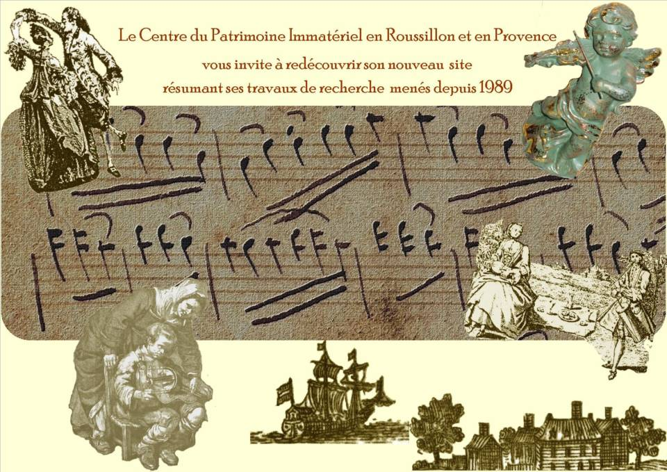 Centre patrimoine immatériel au siècle des Lumières - musiques, chant, danses Régions Occitanie et Provence - FRANCE