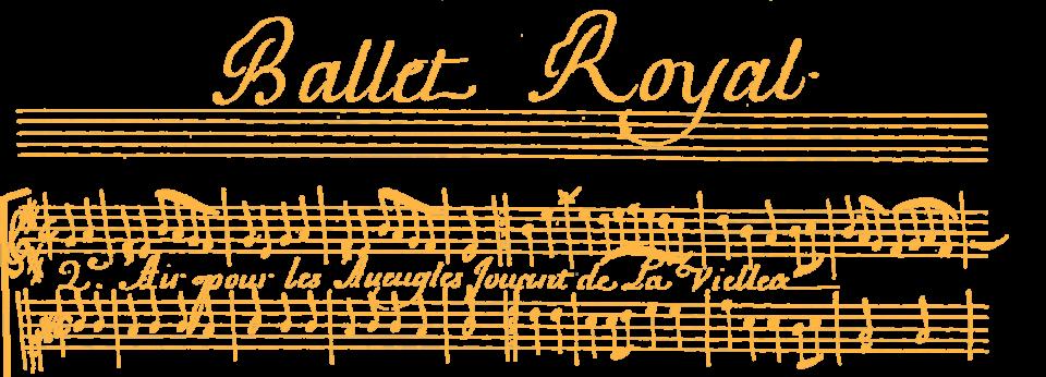 Le Ballet Royal de l'impatience de Jean Baptiste Lully dansé par Louis XIV le 19 février 1661, recueilli et copié par Philidor l'aîné en 1690