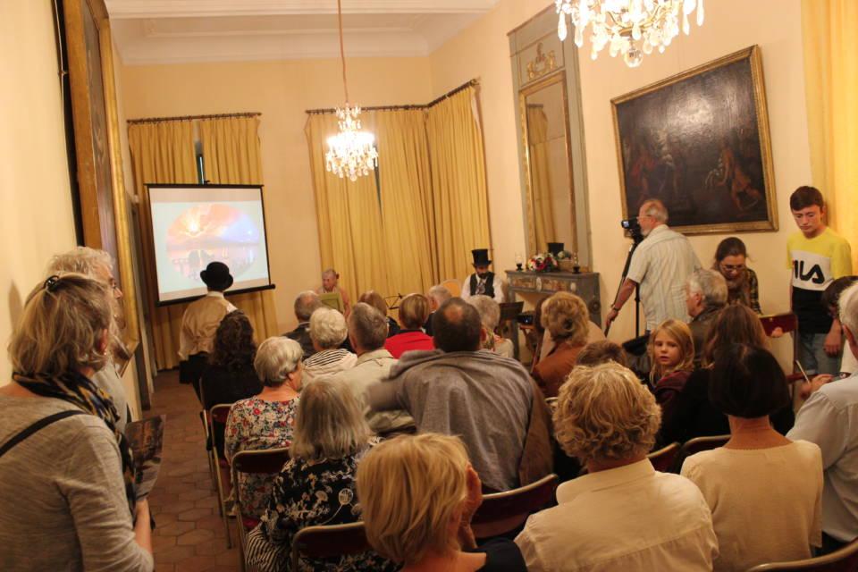 manifestation des Enfans de Cythère journées du Patrimoine à la Villa-Musée Fragonard de Grasse