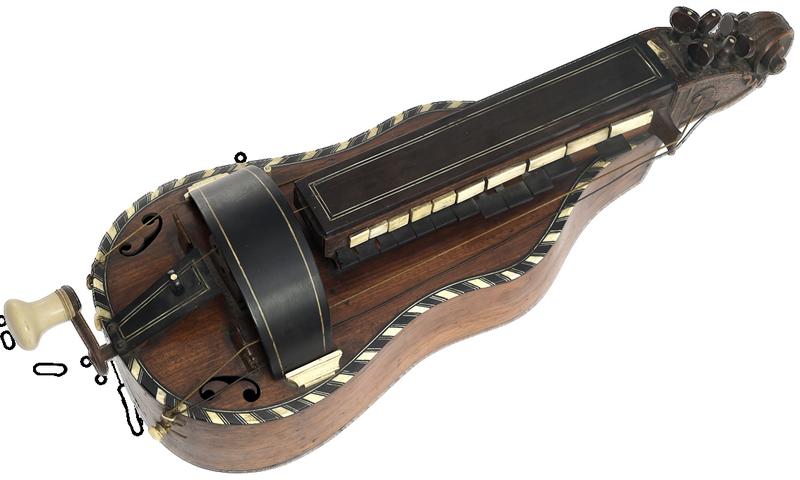 vielle à roue baroque J.N. Lambert